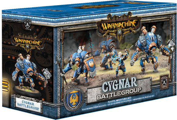 Cygnar Battlegroup Starter Box (4) (PIP 31121)