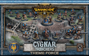 Cygnar Trencher Force Army Box (PIP 31901)