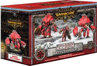 Khador Battlegroup Starter Box (3) (PIP 33118)