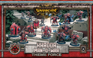 Khador Man O War Theme Force Box (PIP 33135)