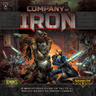 Company of Iron 2 player Game (WM & Hordes) (PIP 25003)