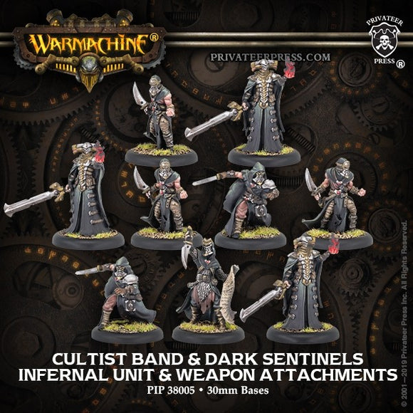 Infernal Unit & WA Cultist Band & Dark Sentinels (9) (PIP 38005)