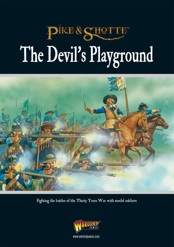 Pike & Shotte The Devil's Playground Supplement Book