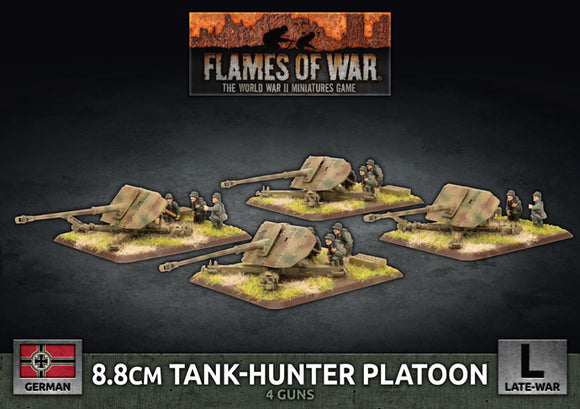 Flames of War Late War German 8.8cm Tank-Hunter Platton (GBX175)