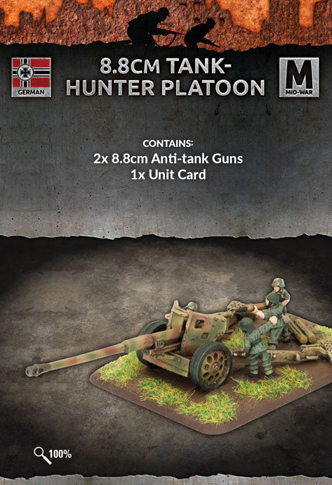 Flames of War Mid War German 8.8cm Tank-hunter Platoon (GE532)