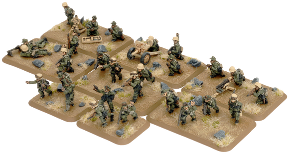 Flames of War Mid War German Afrika Korps Rifle Platoon (GE746)