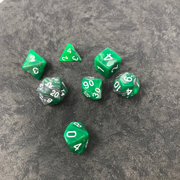 Emerald Ore Poly Set