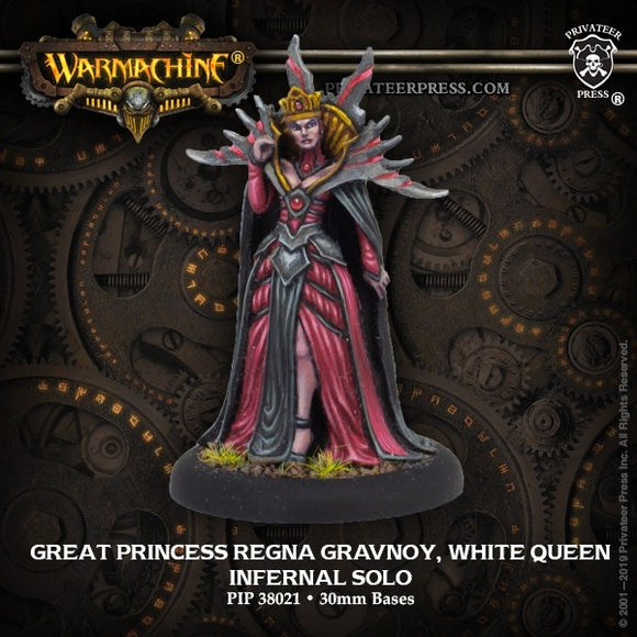 Infernal Great Princess Regna Gravnoy White Queen (PIP 38021)