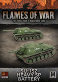 Flames of War Mid War SU-152 Heavy SP Battery (SBX59)