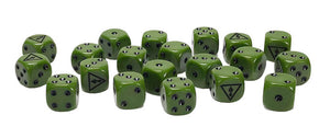Team Yankee Iraqi Dice Set (TIQ900)