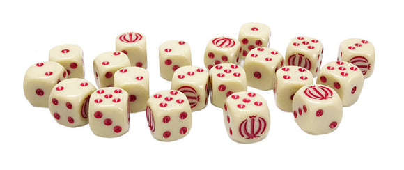Team Yankee Iranian Dice Set (TIR900)
