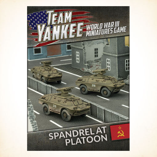 Team Yankee Soviet and East German Spandrel Anti-tank Platoon (TSBX11)