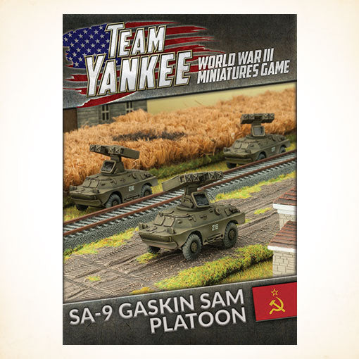 Team Yankee Soviet and East German SA-9 Gaskin SAM Platoon (TSBX12)