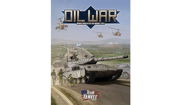 Team Yankee Oil War - Middle East Supplement Book (FW917)