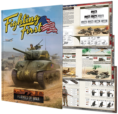 Flames of War Mid War American Fighting First Book (FW243)