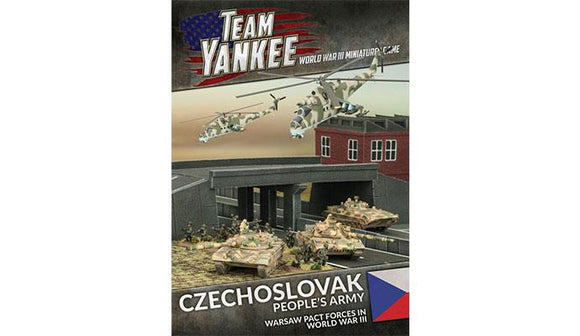 Team Yankee Czechoslovak People's Army Book and Cards (TY503)