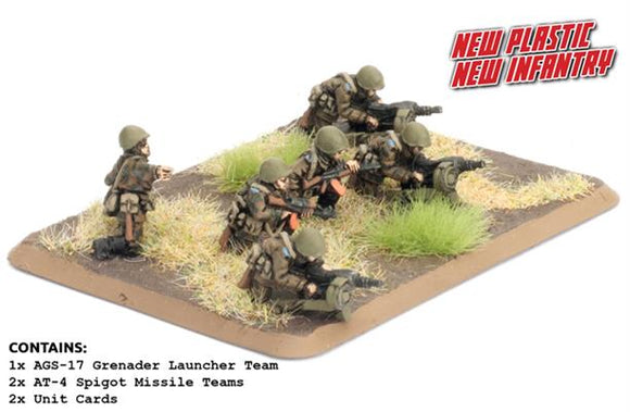 Team Yankee Soviet Motor Rifle Heavy Weapons (TSU706)
