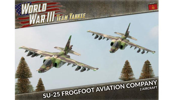 Team Yankee Soviet SU-25 Frogfoot Aviation Company (TSBX20)