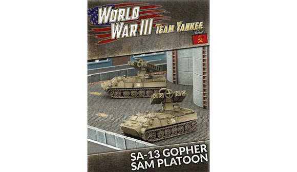 Team Yankee Soviet SA-13 Gopher SAM Platoon (TSBX06)