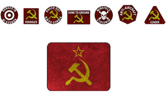Team Yankee Soviet Token Set (TTK15)