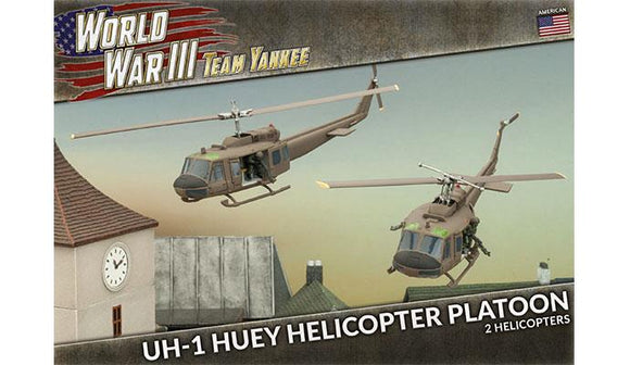 Team Yankee American UH-1 Huey Transport Helicopter Platoon (TUBX07)