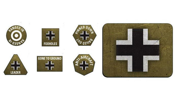 Flames of War German Tokens and Objectives (GE905)
