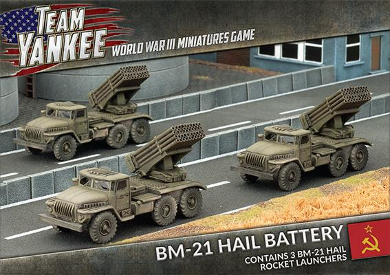 Team Yankee Soviet BM-21 Hail Battery (TSBX08)