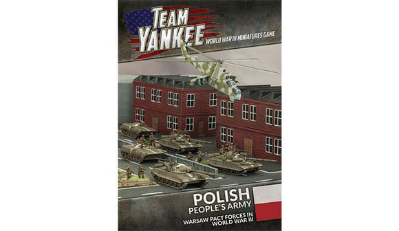 Team Yankee Polish People's Army Book and Cards (TY504)