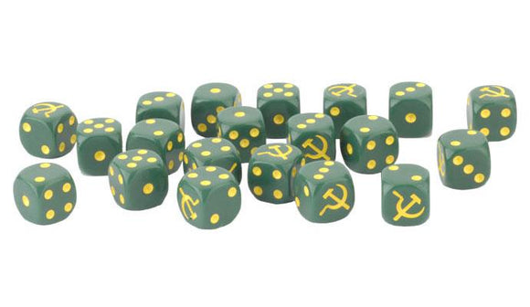Flames of War Soviet Dice (SU902)