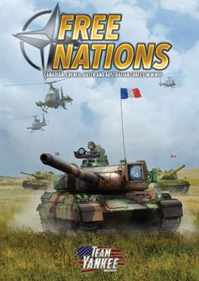 Team Yankee Free Nations- NATO Supplement Book (FW914)