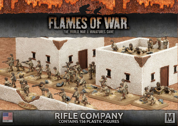 Flames of War Mid War American Rifle Company (UBX58)