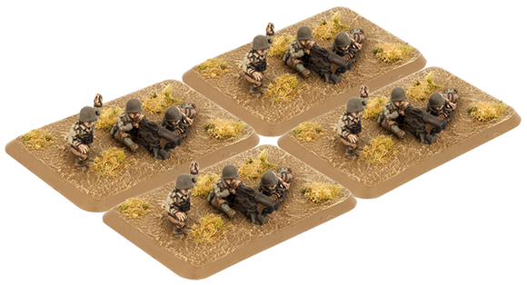 Flames of War Mid War American M1917 Machine-gun Platoon (US784)