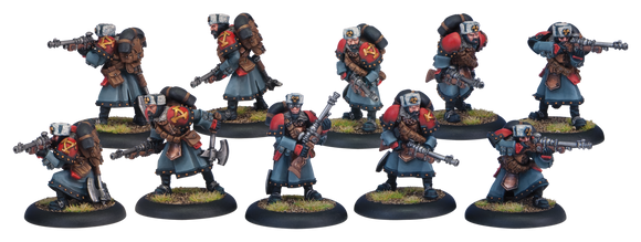 Khador Winter Guard Rifle Corps (10) (PIP 33068)