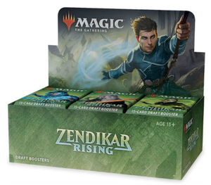 Zendikar Rising Draft Booster Display