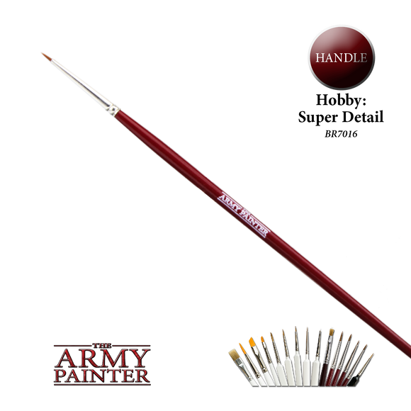 The Army Painter Brushes Super Detail Hobby Brush (BR7016)