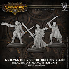 Mercenary Warcaster Unit Ashlynn d'Elyse Queen's Blade (3) (PIP 41175)