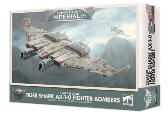 Aeronautica Imperialis: Tiger Shark AX 1-0 Fighter-Bombers