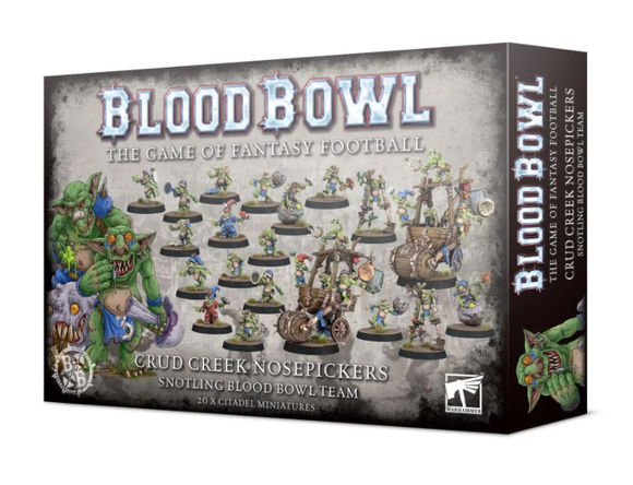 Crud Creek Nosepickers – Snotling Blood Bowl Team