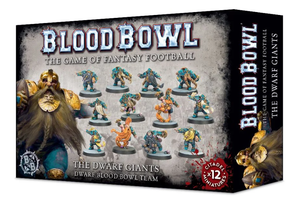 The Dwarf Giants - Dwarf Blood Bowl Team