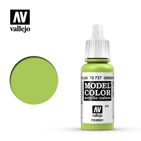 Model Color Fluorescent Green 70.737