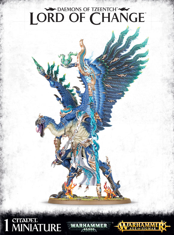 Daemons Of Tzeentch Lord Of Change