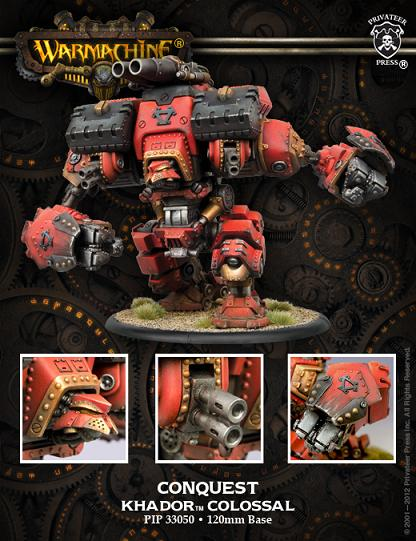 Khador Colossal Conquest (PIP 33050)