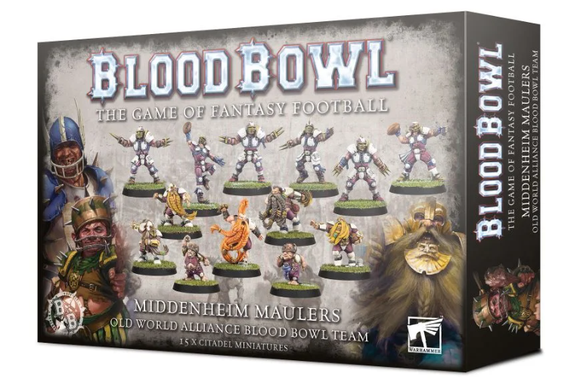 The Middenheim Maulers - Old World Alliance Blood Bowl Team