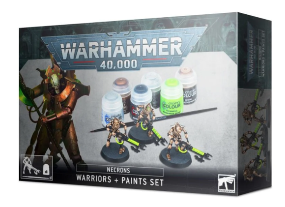 Necrons: Warriors + Paints Set