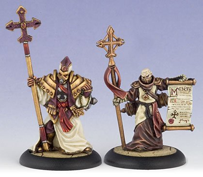 Protectorate of Menoth War Priest & Acolyte (2) (PIP 32005)