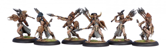 Circle Orboros Tharn Bloodtrackers (6) (PIP 72013)