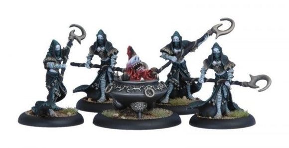 Legion of Everblight Blighted Nyss Spawning Vessel & Acolyths (5) (PIP 73016)
