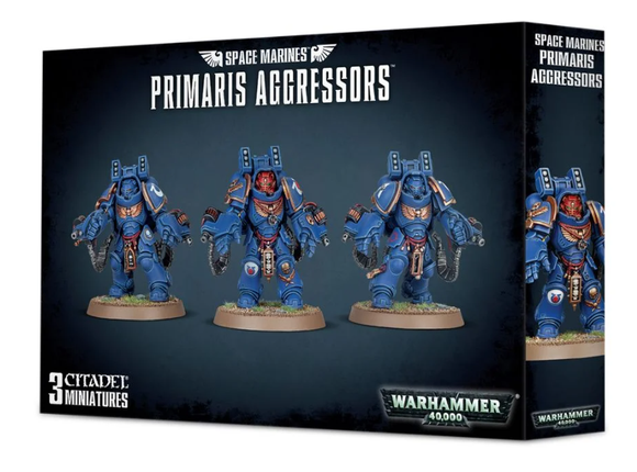 Space Marine Primaris Agressors