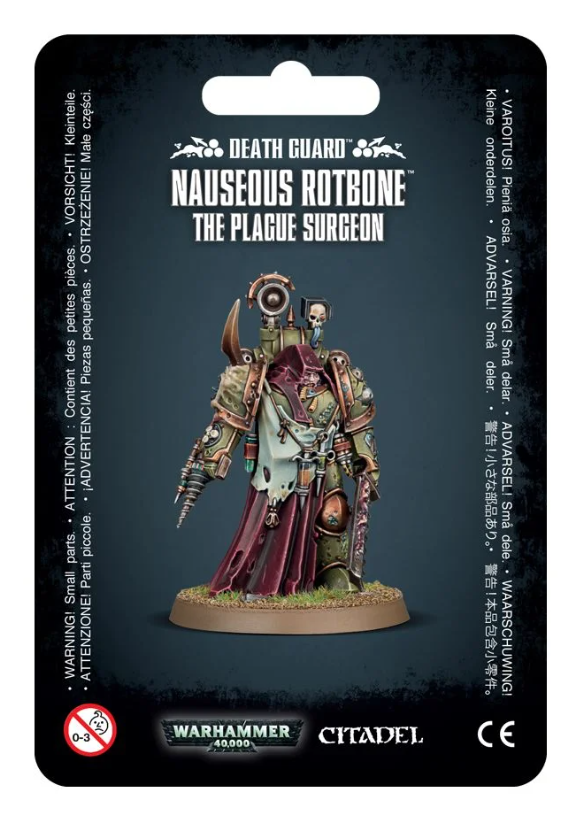 Nauseous Rotbone, the Plague Surgeon
