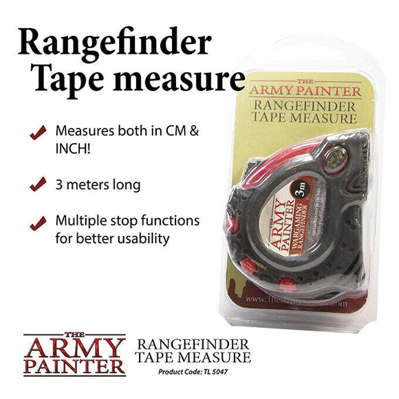 The Army Painter Tools Rangefinder Tape Measure (TL5047)
